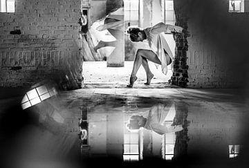 Dans en reflectie van