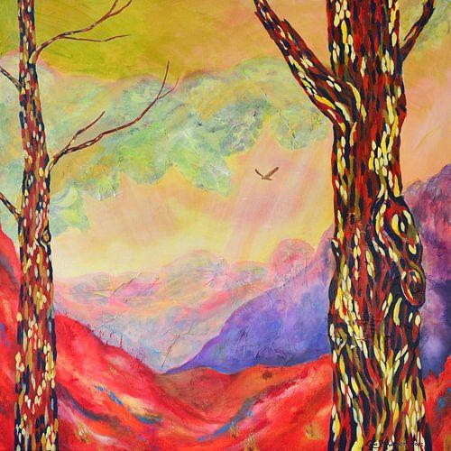 Tranquility (Rust) van Lida Bruinen