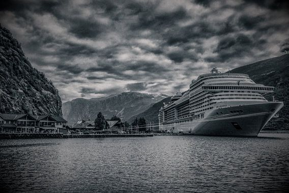 Cruise in Noorse fjord