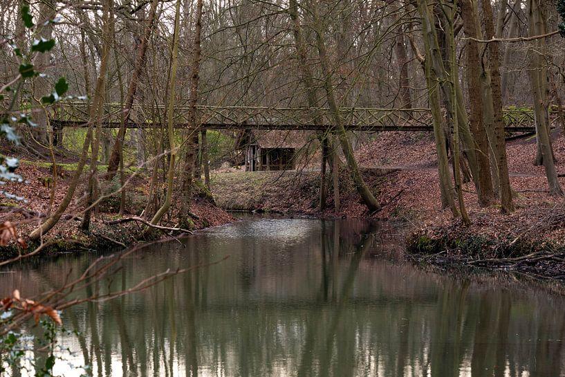 Brug bij Landgoed Elswout van Eline Molier