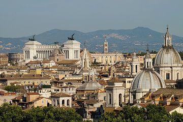 Uitzicht over Rome von Rico Heuvel