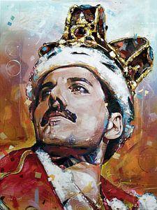Freddie Mercury malerei