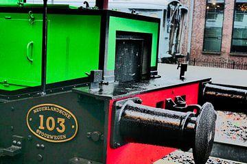 Spoorwegmuseum - Locomotief 103 van Wout van den Berg