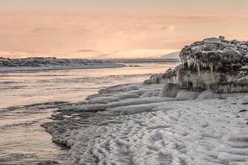 Eisstrukturen Island von Eefke Smets