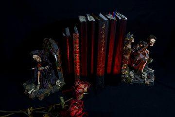 Zeven rode boeken van Wieland Teixeira