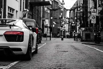 Audi R8 in der Stadt von Jaimy van Asperen