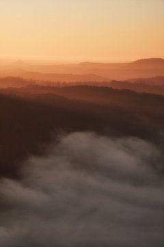 Elbsandsteingebirge von Marvin Schweer