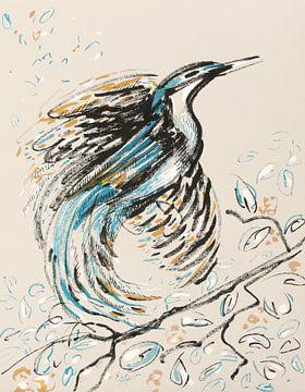 Paradijsvogel van ART Eva Maria