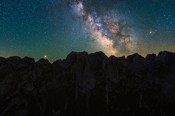 Montenegro milchstraße von Rick Kloekke