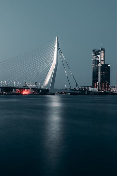 Pont Erasmus de nuit #1 sur Chris Koekenberg