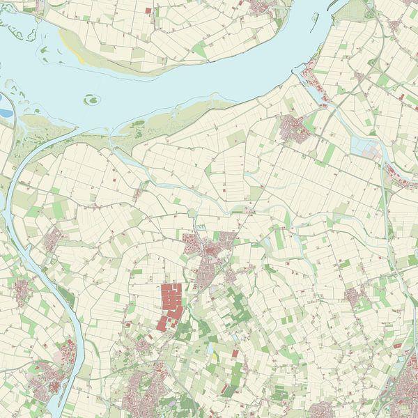 Kaart vanSteenbergen van Rebel Ontwerp