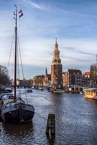 Montelbaanstoren Amsterdam van Peter Bartelings