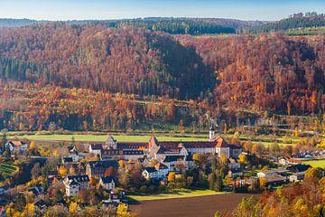 Beuronklooster in de Donauvallei van Jan Schuler