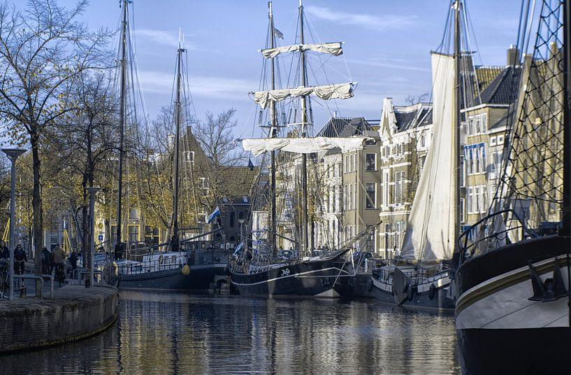 Bruine vloot van Harry Stok