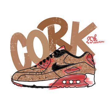 "Nike Air Max 90 ""Cork"" von Pim Haring"