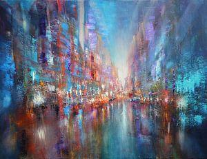 Die blaue Stadt von Annette Schmucker