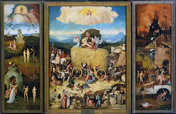 Jheronimus Bosch. The Haywain sur