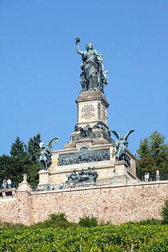 Ruedesheim aan de Rijn : het Niederwald Monument van Torsten Krüger