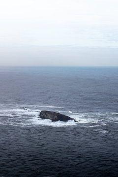 Rots in de oceaan van Rauw Works