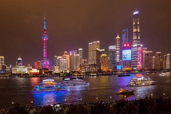 Shanghai adembenemende wereldstad