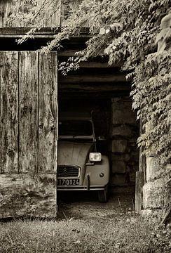 Verlegen lelijk eendje - Citroën 2cv van Peter Halma