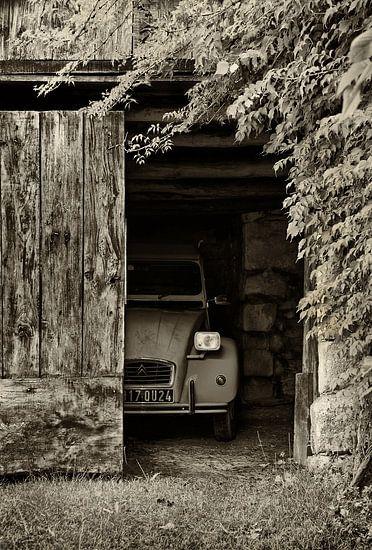 Verlegen lelijk eendje - Citroën 2cv