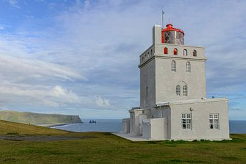 Dyrholaey vuurtoren, Iceland sur Frank Laurens