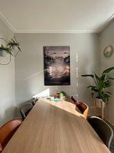 Klantfoto: Karel Doormanstraat Rotterdam van Paul Poot, als print op doek