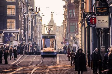 Amsterdam Leidsestraat  van Marleen Kuijpers