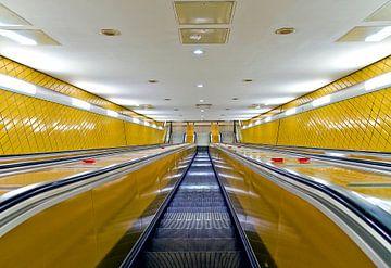Rolltreppe von Leopold Brix