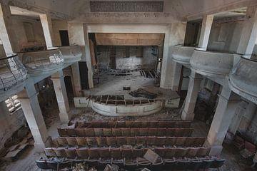 La salle de théâtre sur