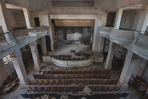 De theaterzaal van