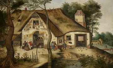 L'Auberge St. Michel, Pieter Brueghel der Jüngere