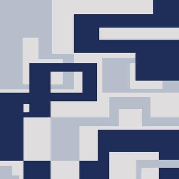 Abstracte samenstelling 911 van Angel Estevez