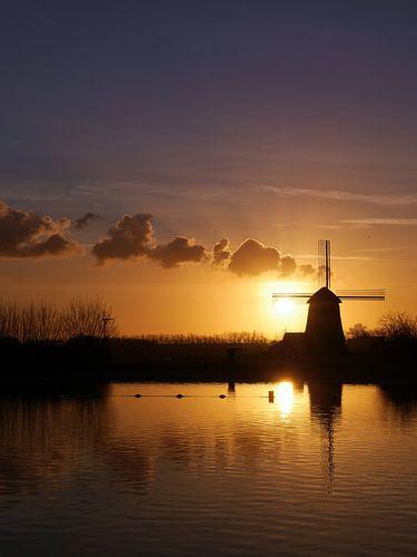 Tweede Broekermolen, Uitgeest van
