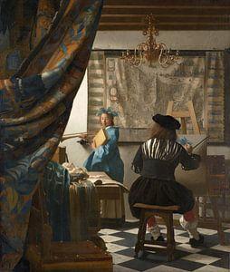 Johannes Vermeer. De schilderkunst, 1666