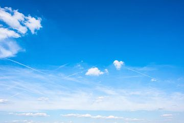 Ciel bleu sur Günter Albers