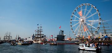 Sail Amsterdam in het Ij van Kaj Hendriks