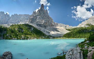 Dolomieten - Lago di Sorapis von Martin Jansen