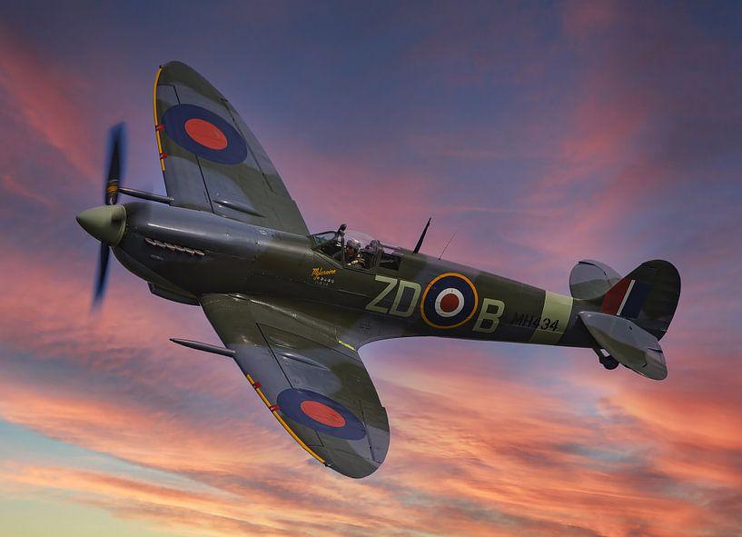 Supermarine Spitfire-MK-IX van Brian Morgan