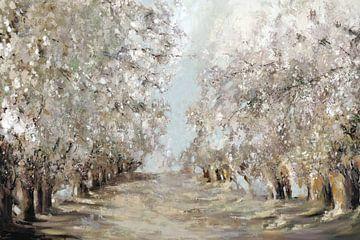 Spring Blossoms, Ella K  van PI Creative Art