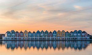 Sale -20% : De regenbooghuizen in Houten van Toon van den Einde