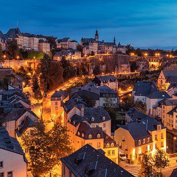 Oude stad Luxemburg van Jürgen Rockmann