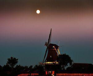 De molen en de maan/The windmill and the moon