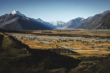Mount Cook, Canterbury, Neuseeland von Floris Heuer