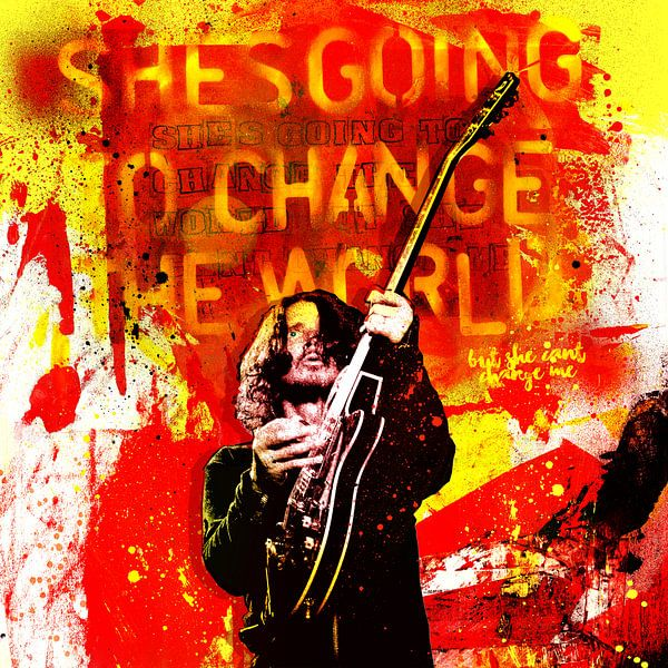 She's Going To Change The World von Feike Kloostra