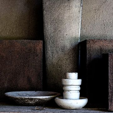 Stilleven met potten en stroomgeleider (gezien bij vtwonen) van Affect Fotografie