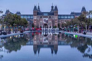 Reflectie van het Rijksmuseum