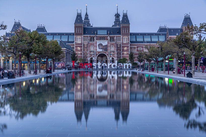 Reflectie van het Rijksmuseum van Tristan Lavender