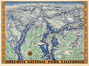 Yosemite National Park Californië